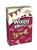 PET-982515 Wagg'mmms Hundekuchen Leber (400 g) Packung mit 5 Stück