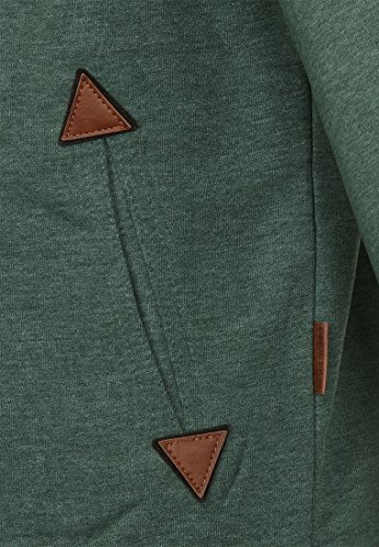 Naketano Male Zipped Jacket Schwarzkopf IV Pine Green Melange