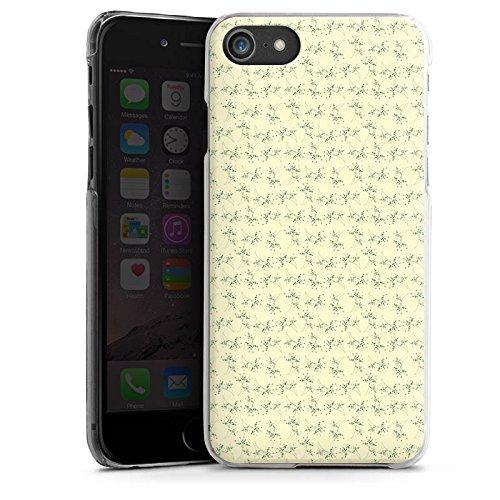 Apple iPhone X Silikon Hülle Case Schutzhülle Blumen Muster Vintage Hard Case transparent