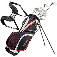 Wilson Men's Stretch Golf Club 10-Club Set with Stand Bag