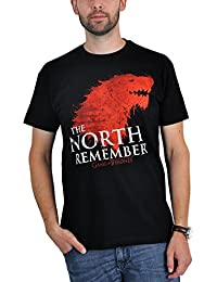 T-shirt Game of Thrones The North Remembers série HBO noir