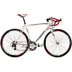 """KS Cycling Euphoria Vélo de Course Blanc 28"""""""