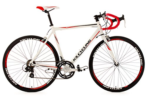 Road Racing Bike 28 Euphoria 58cm 14 Gear White Ks Cycling