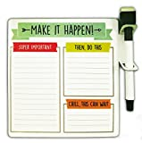 #9: MFM TOYS Make It Happen! Daily Task Manager Fridge Magnet (Includes Sketch Pen)