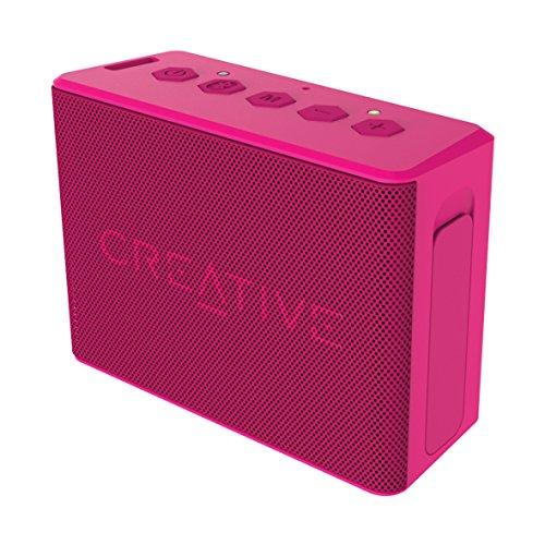 Creative Enceinte portable Bluetooth universelle Rose