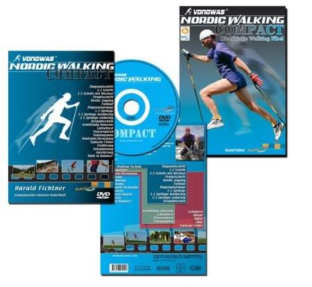 Nordic Walking COMPACT - Die Nordic Walking DVD: Alle Techniken und Tipps zu Nordic Walking und allgemeiner Fitness