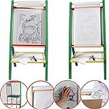 4 in1 Kindermaltafel mit Papierrolle Standtafel Standkindertafel Kindertafel Tafel Schultafel Plexiglass Plexi