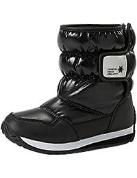 Niños Botas de nieve - Impermeable Bota de Invierno zapatos calientes - hibote #112702
