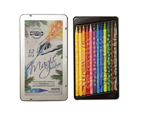 12-stuck-vollminen-farbstifte-kunstler-mehrfarbstifte-metallbox-set-magic-christmas-set-von-koh-i-no