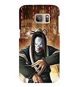 printtech Anime Villian Character Back Case Cover for Samsung Galaxy S7 / Samsung Galaxy S7 Duos with dual-SIM card slots