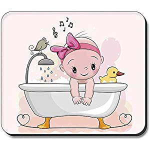 Mouse Pad - Baby In Bath