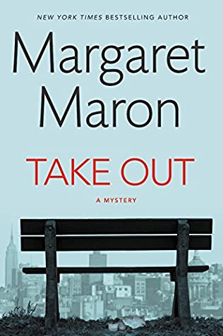 Take Out by Margaret Maron Cover graphic