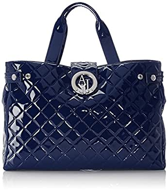 Armani Jeans Shoes & Bags De - B5230V4, Acquirente da donna, blu (blu - blue 5x), 39x28x11 cm (B x H x T)
