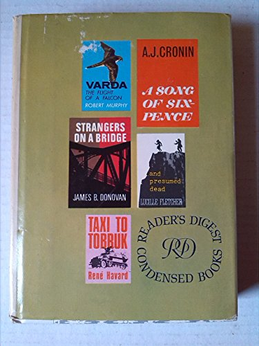 readers-digest-condensed-books-a-song-of-sixpence-taxi-to-tobruk-strangers-on-a-bridge-varda-the-fli