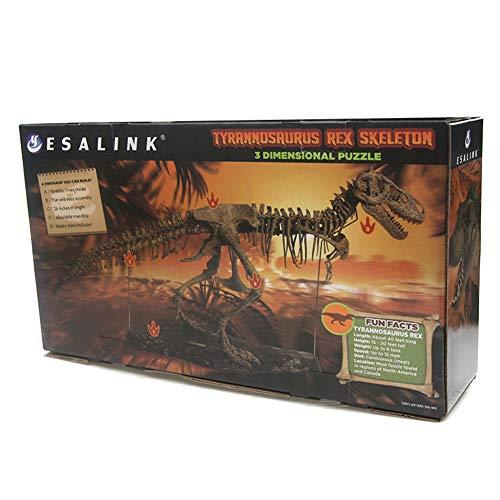 Große Simulieren Dinosaurier Skelett Spielzeug, Montieren Tier Skeleton Spielzeug Innenausstattung Dekoration Kinder Geschenke Verpackt
