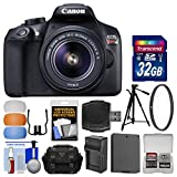 Best Selling Canon EOS Rebel T6 Wi-Fi Digital SLR Camera & EF-S 18-55mm IS II Lens with 32GB Card + Case + Battery & Charger + Tripod + Filter + Diffusers + Kit be sure to Order Now