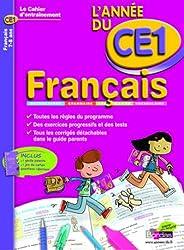 CAHIER DE L'ANNEE DE - FRANCAIS CE1 - (Ancienne édition)