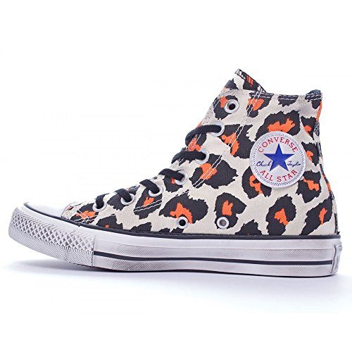 Converse  Chuck Taylor All Star Print Hi, Damen Sneaker braun Beige/Marrone/Arancione * Mehrfarbig