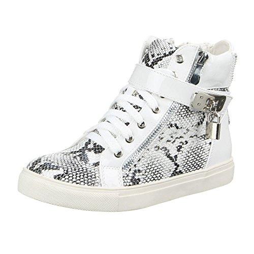 Damen Schuhe, XQ200, FREIZEITSCHUHE Weiß