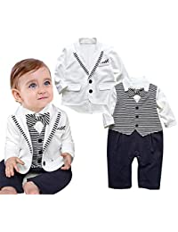 5f0ab5f0a0395 Amazon.fr   Depuis 1 mois - Costumes et vestons   Bébé garçon 0-24m ...