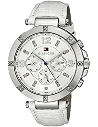Tommy Hilfiger Damen-Armbanduhr Analog Quarz Leder 1781535
