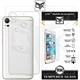 HTC Desire 10 Pro Back Cover + Tempered Glass Combo - Soft Clear Back Cover Case for HTC Desire 10 Pro + Premium HD Tempered Glass for HTC Desire 10 Pro from TheGiftKart™