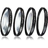 Filtre Bonnette gros plan Macro Close Up +1 +2 +4 +10 62mm pour Canon Nikon Olympus Pentax