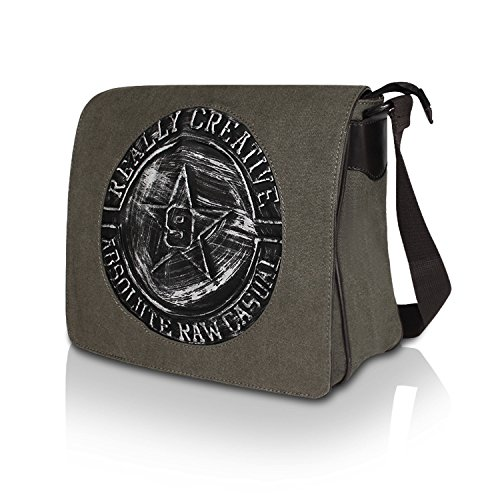 4a01b42075a53 Glamexx24 Tasche Handtaschen Schultertasche Umhängetasche mit Stern Muster  Tragetasche TE201620 23117a5 Grau ...