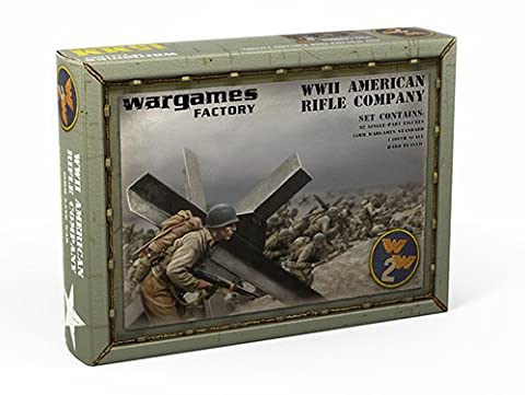 15mm WWII American Rifle Company