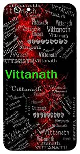 Vittanath (Owner Of Money ( Kuber )) Name & Sign Printed All over customize & Personalized!! Protective back cover for your Smart Phone : Moto E-2 ( 2nd Gen )