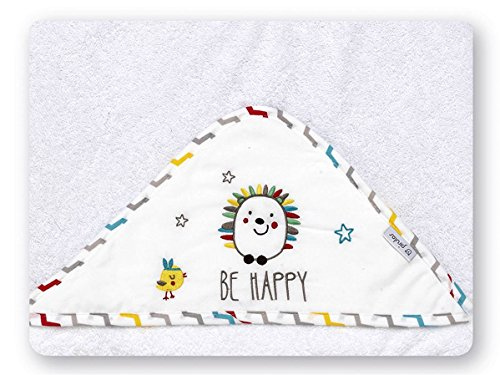 pirulos 00713510–maxicapa, Design Espin, 100x 100cm, weiß/Leinen