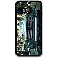 Old Vintage Retro Car Bonnet Headlights Classic Car Design case for HTC One M8
