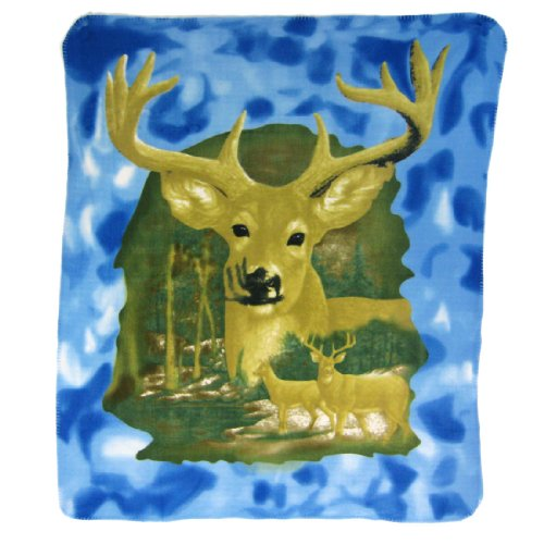 10 Pointer Deer coperta in pile 152,4 x 127 cm (Deer Coperta Del Tiro)