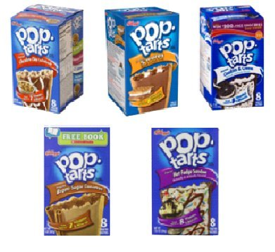 American Pop Tarts Assorted 5 pack