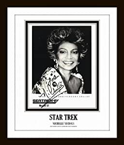 Star Trek 'Uhura' Signed Framed Photo