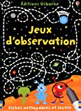 JEUX D'OBSERVATION
