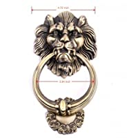 Unilocks Large Antique Lion Door Knocker Lion Head 5Pcs/Lot
