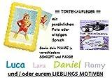 Tortenaufleger Tortenfoto bedruckt mit eigenem Motiv, Foto oder Text Rechteckig A4 ca. 20 x 30 cm *NEU*OVP*