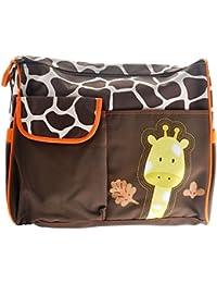 yeah67886jirafa patrón multifunción gran capacidad bebé pañal cambiantes Pad viajes momia bolso