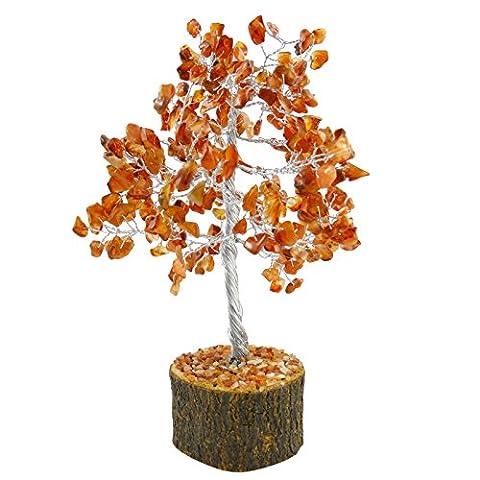 Harmonize Carnelian Tree Feng Shui Reiki Healing Stone Spiritual Table...