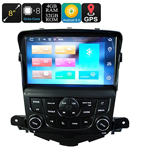 1 DIN Car Stereo For Chevrolet Cruze Android 6.0 Octa-Core 4GB RAM 32GB ROM 8\