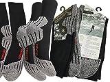 3 Paar Funktionssocken Wandernsocken Outdoor Trekkingsocken Baumwolle Socken Frotteesohle, Mehrfahrbig (Socken), 39/42  - 51XF6eWU 8L - Trekkingschuhe – Perfekter Halt in jede Richtung!