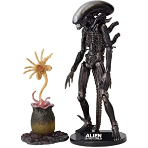 Alien Revoltech SciFi Super Poseable Action Figure #001 Alien Big Chap [Toy] (japan import) 1