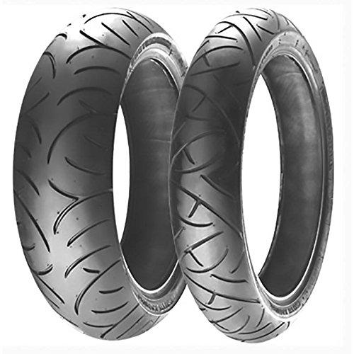 Bridgestone BATTLAX BT-021 R - 160/60/R17 69W - //dB - Sommerreifen Motorrad - R-tech-felgen