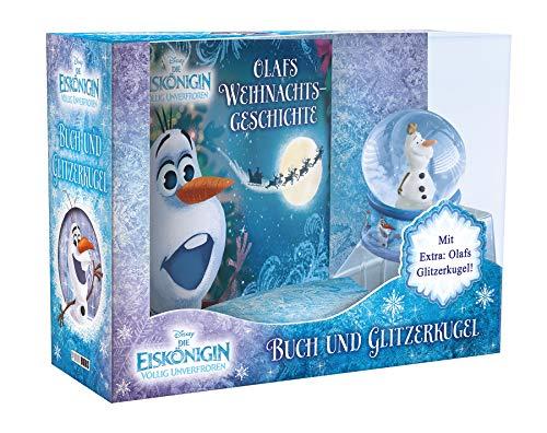 Disney Die Eiskönigin: Olafs Weihnachtsgeschichte: Buch und Glitzerkugel im Boxset