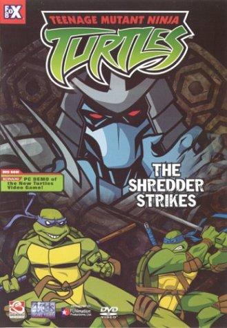 Teenage Mutant Ninja Turtles - The Shredder Strikes (Volume (Ninja 2003 Teenage Turtles Mutant)