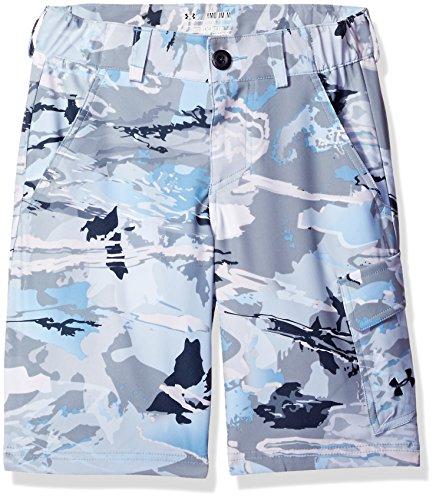 Under Armour Jungen Shark Bait Cargo Shorts, Herren, Ridge Reaper Camo Hy/Stealth - Camo Shorts Männer Armour Under