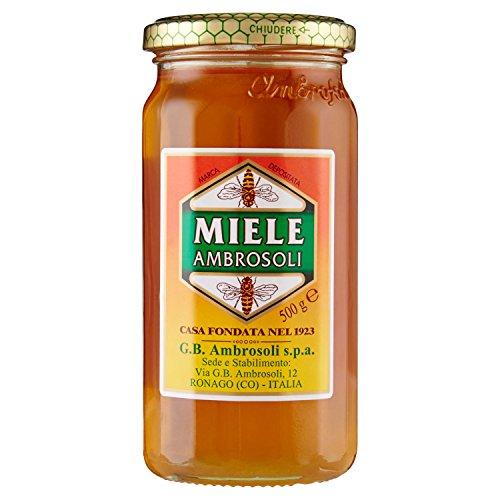 Ambrosoli - Miele, Miscela di miele di fiori - 500 g - [confezione da 3]
