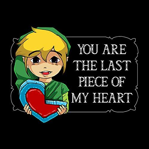 Legend Of Zelda The Last Piece Valentine Men's Vest Black