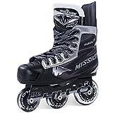 Bauer Mission Youth RH Inhalator NLS-06Hockey Skate, schwarz, E 10.0